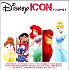 DISNEY ICON Volume 1 CD ~ LION KING~LITTLE MERMAID~ALADDIN~SOUNDTRACK *NEW*
