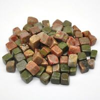 Natural Unakite Stone Crystal Healing Uncertainty Polished Mineral Specimen Gift