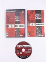 Tenchu Wrath of Heaven, Sony PlayStation 2, 2003, with Case & Manual