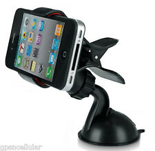 universal car phone windshield holder surface mount for iphone ipod PSP PDA more