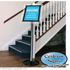 New A3 Illuminated LED Freestanding Menu or Brochure Holder Display Stand Board