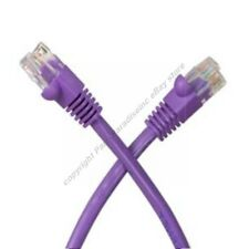 Lot100 7ft RJ45Cat5e Ethernet Cable/Cord$SHdisc{PURPLE{F