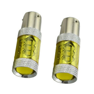 MagiDeal 1156 Yellow LED Bulb for Fog Daytime Running Light Headlight