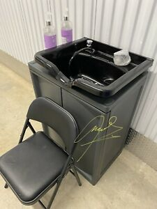 Backwash Shampoo Bowl Sink Beauty Spa Salon Equipment Station Unit portable 110V