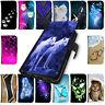 Hülle für Samsung Galaxy A10 A20e A30S A40 A50 A70 A80 Schutz Handy Tasche Motiv