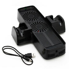 New 3 In 1 Cooling Cooler Fan Station Console Controller Stand for XBOX360 Slim