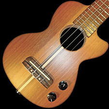 Teton Concert Electric Solid Body Ukulele w jacks for MP3 , headphone & amp 102C