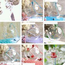 Campana De Vidrio japonés Carillón De Viento Decoración De Jardín Ventana De Interior Colgando Decoración Artesanía