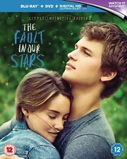BLU-RAY THE FAULT IN OUR STARS   BRAND NEW SEALED UK STOCK