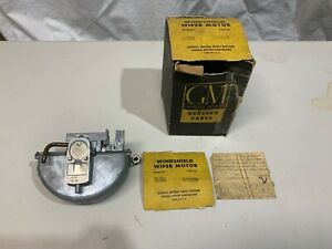 "GM 4749829 1954-59 Oldsmobile Windshield Wiper Motor ""NOS"""