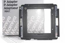 Exc+++ Mamiya P Adapter RB67 Polaroid *514350