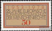 BRD (BR.Deutschland) 979 (kompl.Ausgabe) postfrisch 1978 Menschenrechte