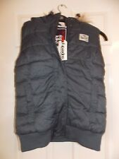 BNWT WOMENS SUPERDRY MARL PUFFLE GILET JACKET UK SMALL (10) RRP £74.99