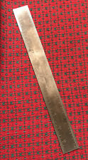 Vintage Brown & Sharpe Rare 30mm 12� Rule / Scale - Machinist. Providence Usa