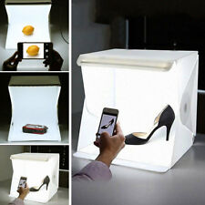 Foldio Mini LED Studio Photo Box Light Professional Photography Backdrop Cube UK