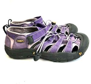 Keen Youth Big Kids Size 5 Purple Newport H2 Water Sandal Sport Shoes