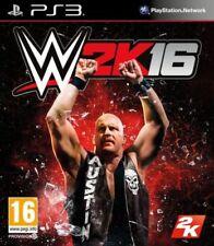 PS3-WWE 2K16 (2016) ** Neu & Versiegelt ** Official UK Lager