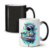 Space Sea Shark Fashion NEW Colour Changing Tea Coffee Mug 11 oz | Wellcoda
