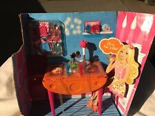 Barbie Kitchen Table Set Furniture