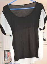 ALYX Womens Black and White Blouse Size:  Medium *NWT*