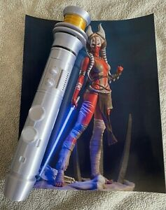 1:1 Scale - 3D Printed Shaak Ti Lighsaber Hilt Cosplay/Prop/Collectable/Prop