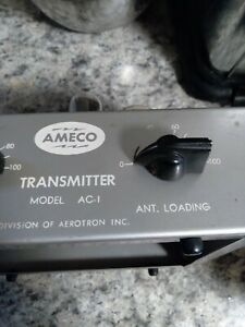 Vintage Ameco Transmitter Model AC-1 Ham Radio 1960s
