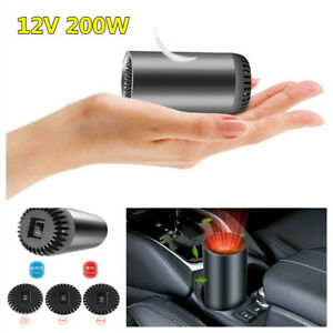 Portable Car Heater Defroster Demister 200W Heating Cooling Fan Air Purification