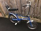 Raleigh Chopper mk1 Vintage Bike Blue Partly Restored