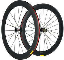 Carbon Wheels 60mm Clincher Road Bike Carbon Wheelset U Shape 25mm Width Cycle