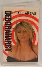 Deboarah Debbie Harry (Blondie) - Original Laminate Concert Tour Backstage Pass