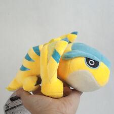 Monster Hunter Tigrex Yellow 8 inch Soft Plush Stuffed Doll Toy Gift