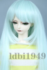 "6-7"" 1/6 BJD Wig Dal BJD LUTS DOD DD Dollfie SD Doll Long Mint wig"
