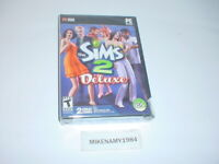 New THE SIMS 2 DELUXE game for PC - DVD-ROM - FACTORY SEALED
