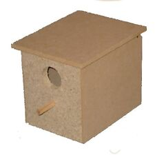 Bird Nest Box Small Suit Finch For Breeding Timber Wood Design