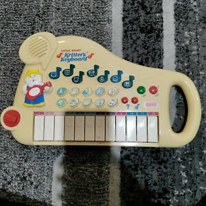 (Sound Issue) VTech Little Smart Kritters Keyboard Vintage Electronic Songs