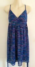 As New Dotti Purple Maxi dress Size 6