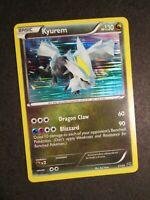 NM Pokemon KYUREM Card DRAGON VAULT Set 21/20 BW Secret Rare HOLO Promo AP