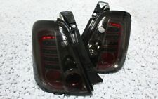 LUCES TRASERAS LED FIAT 500 500c ABARTH TURISMO COMPETICIÓN BIPOSTO Negro