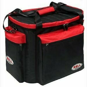 Bell Helmet & Gear Bag black/Red Also Ideal for HANS Device/Boots/Gloves Etc