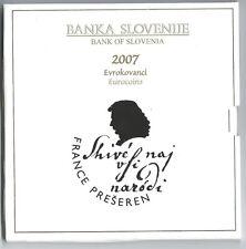 Slovenie / Slovenia 2007 Bu set FRANCE PRESEREN