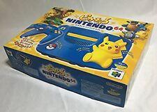 Nintendo 64 Pokemon Console Japan Pikachu Blue RARE COLLECTORS ITEM Excellent