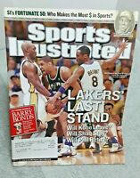 Sports Illustrated May 17 2004 Kobe Bryant Los Angeles Lakers