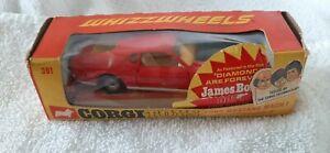 Corgi 391 James Bond Mach 1 Boxed near Mint In Box