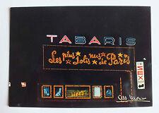 CP - GAI PARIS - CABARET TABARIS - 10870 *