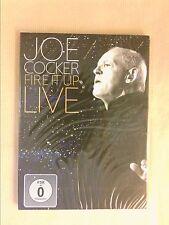 DVD PROMOTIONNEL CONCERT / JOE COCKER / FIRE IT UP LIVE / NEUF SOUS CELLO