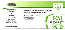 Ticket Ireland - Estonia 10.08.2010 U21