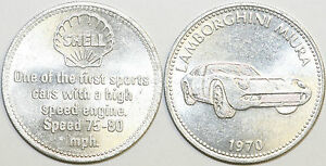 1970 Shell Historic Cars Medal Collection Your Choice of Medallion