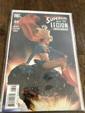 SUPERGIRL AND THE LEGION OF SUPERHEROES #23 ADAM HUGHES VARIANT DC COMICS NM HTF