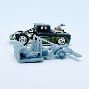 1 pc. Truck Race Frame 1:64 scale engine 3D printed resin for Hot Wheels