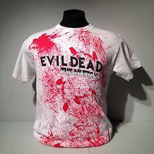 I Survived Evil Dead Musical Blood Splatter Zone Bruce Campbell Ash vs Sam Raimi